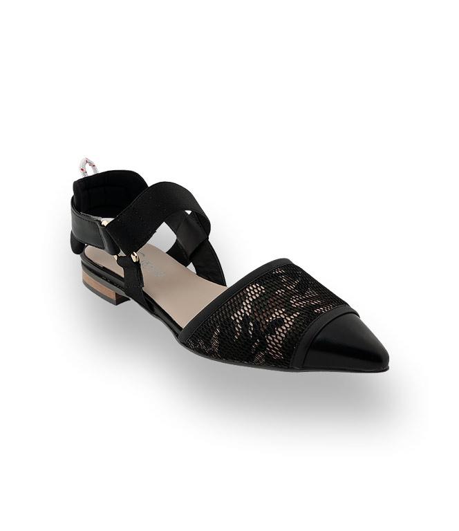 best cheap efdf9 5884a Donna Carolina Sling in schwarz mit Camouflage ...