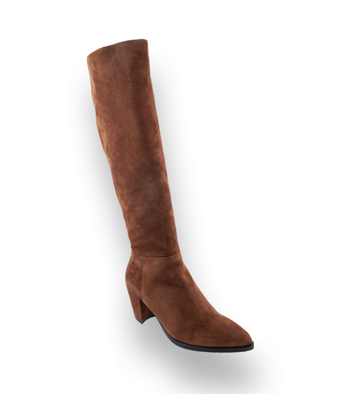 Maripé Absatz Stiefel für Damen Langschaftstiefel für Damen
