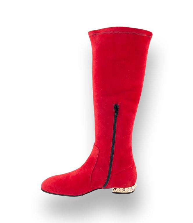 velours Stiefel Status Status rot Stiefel rot Status velours rot Stiefel Stiefel rot Status velours 4Rj3A5qL